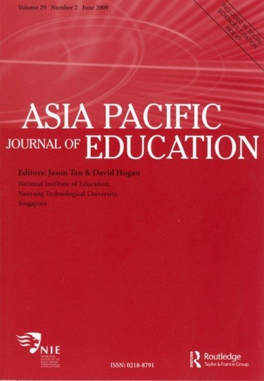 ELLTA 2012 Publication - Asia Pacific Journal of Education